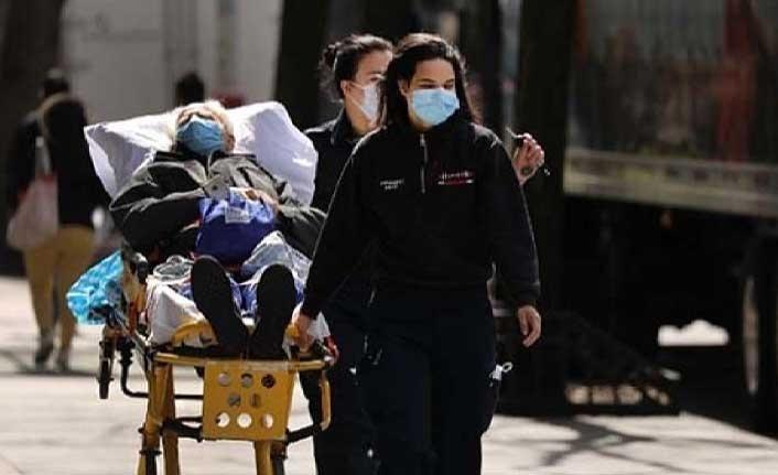 ABD'de son 24 saatte 130 kişi Kovid-19 nedeniyle hayatını kaybetti