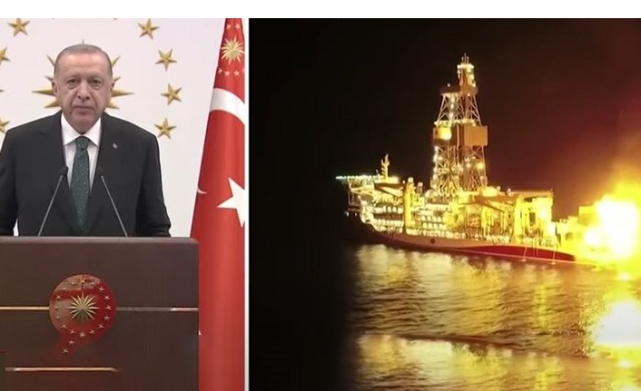 Erdoğan: Keşfettiğimiz gazın yanan ateşine iyi baksınlar