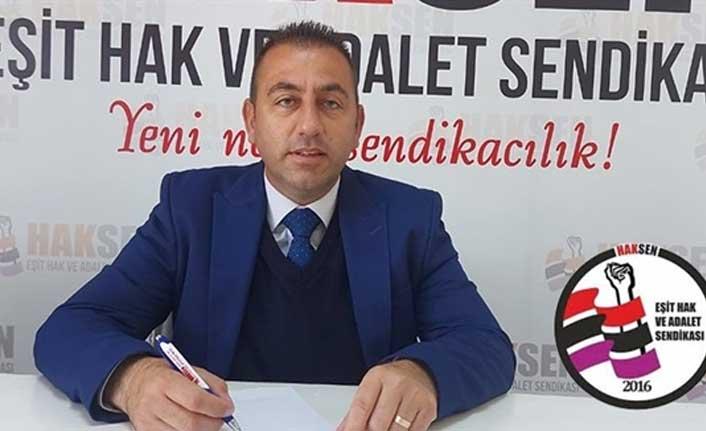 """Haksen Başkanı Büyükoğlu: """"Asgari Ücret Kamudaki En Düşük Maaşa Sabitlenmeden, Asgari Ücretlinin Çilesi Bitmez"""""""