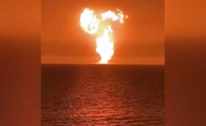 Hazar Denizi'ndeki Alevlerin Çamur Volkanı Patlamasından Kaynaklandığı Açıklandı