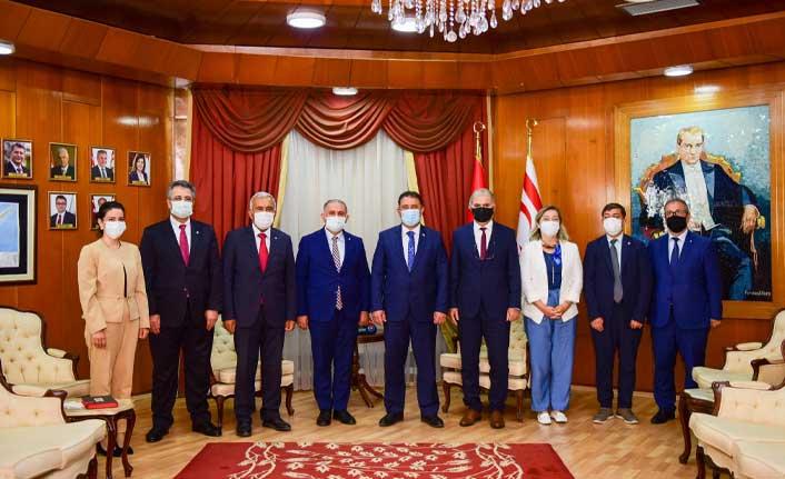 İstanbul Teknik Üniversitesi Yönetimi Kuzey Kıbrıs'ı Ziyaret Etti