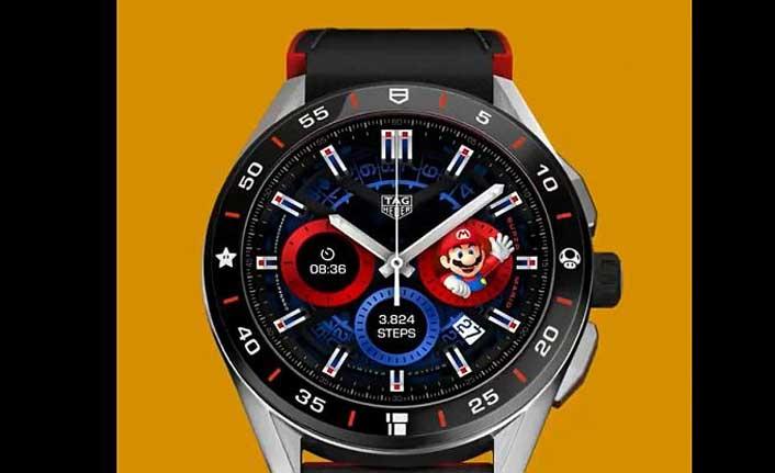 Lüks marka Tag Hauer'in Süper Mario temalı kol saati çıktığı gün tükendi