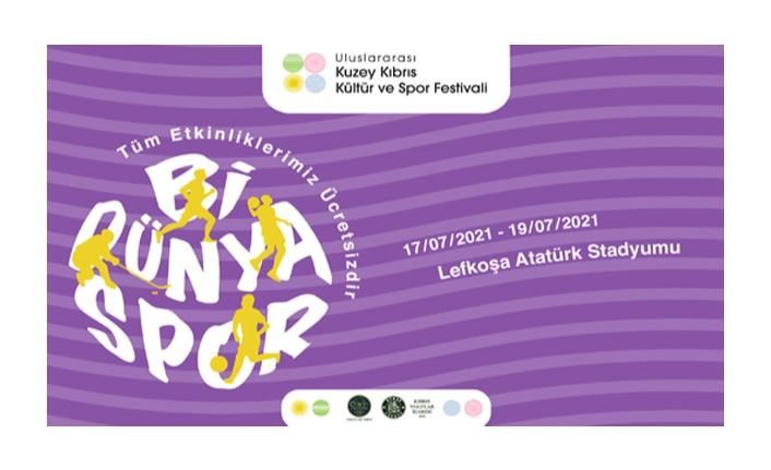 Uluslararası Kuzey Kıbrıs Kültür ve Spor Festivali Bugün Başlıyor