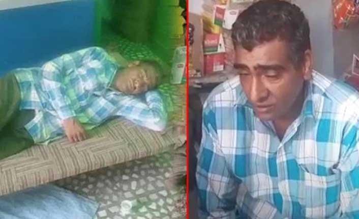 Yılda 300 gün uyuyor, ailesi tarafından uykusunda yıkanıp besleniyor