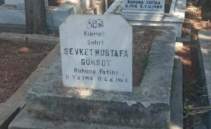 Kıbrıs Şehidi Şevket Mustafa Gürsoy'un naaşı 57 yıl sonra KKTC'de