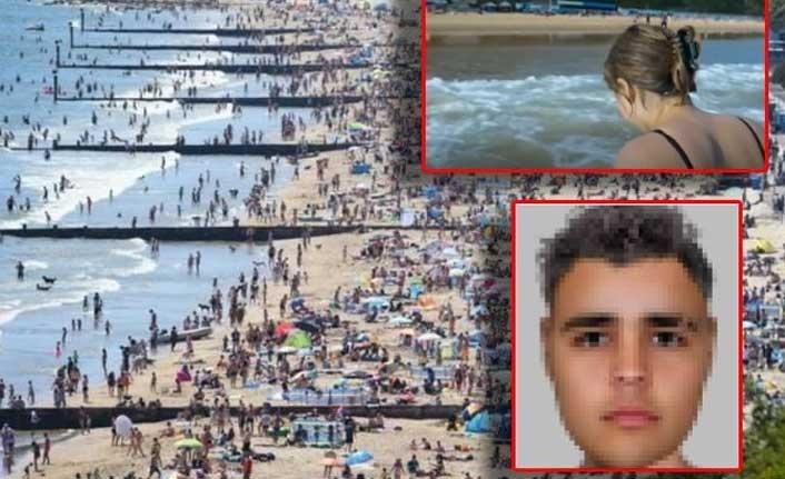 Yüzlerce kişi, suyun içerisinde tecavüze uğrayan kızı hiçbir şey yapmadan izledi