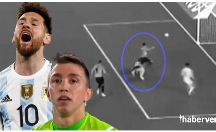 Arjantin-Uruguay maçında Fernando Muslera'dan inanılmaz hata! Messi şut bile atmadan...