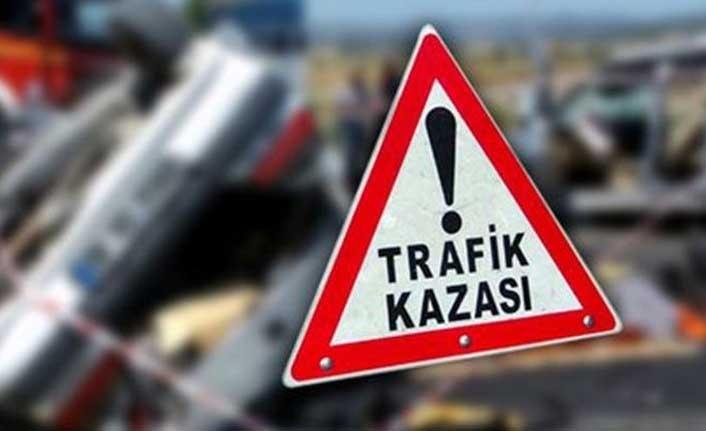 Girne Lefkoşa yolunda kaza