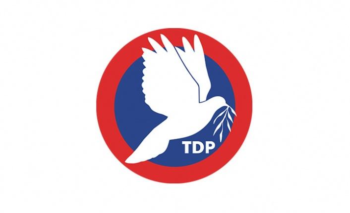 TDP'nin 7'nci olağanüstü kurultayı 16 Ekimde