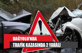 Dağyolu'nda trafik kazası