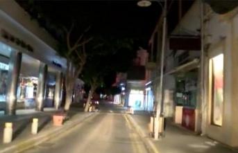13 kişinin sokağa çıkma yasağını ihlal ettiği tespit edilmiştir