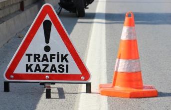Lefkoşa'da trafik kazası
