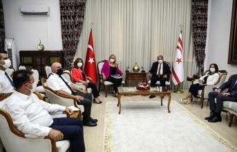 Sennaroğlu İstatistik Kurumu Başkanı Öksüzoğlu'nu Kabul Etti