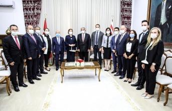 Sennaroğlu, TBMM Dilekçe Komisyonu Heyetini Kabul Etti