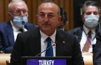 Türkiye Dışişleri Bakanı Çavuşoğlu, Nato Genel Sekreteri Stoltenberg İle Görüştü