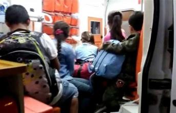 1'i Erkek 3 Kadın ve 12 Çocuk Mülteci Yakalandı.