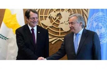 Anastasiadis:İki devletli çözüm modeli, hayal kırıklığı