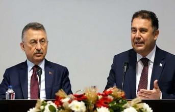 Başbakan Saner İle TC Cumhurbaşkanı Yardımcısı Oktay Açıklama Yaptı