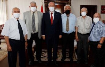 Cumhurbaşkanı Tatar Sönmezliler Ocağı'nı Kabul Etti