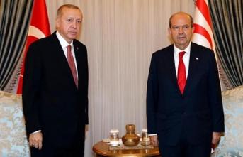 """Cumhurbaşkanı Tatar; """"TC Cumhurbaşkanı Erdoğan tarihi gerçekleri bir kez daha gözler önüne serdi"""""""