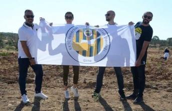 KKTC Fenerbahçeli İş İnsanları Derneği'nden Güzelyurt-Kalkanlı Yoluna Anı Ormanı