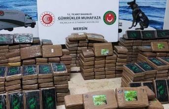 Mersin Limanı'nda 463 kilogram kokain ele geçirildi