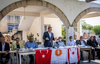 Saner İskele ve Karpaz Bölgesinde Köy Ziyaretleri Gerçekleştirdi