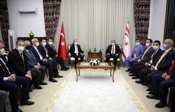 Sennaroğlu, Türkiye Ticaret Bakanı Muş'u Kabul Etti