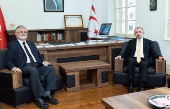 TC Ticaret Bakanı Muş, İbrahim Benter'i ziyaret etti