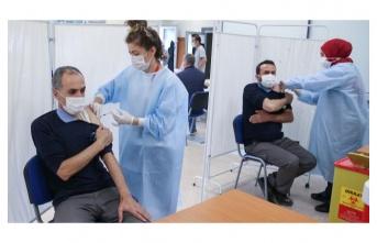 Türkiye'de yeni rekor: 1 milyon 582 bin doz aşı yapıldı
