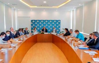 Türkiye'den Gelen Teknik Heyetle Gazimağusa Belediyesi Yetkilileri Teknik Toplantı Yaptı