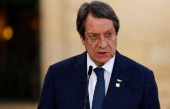 """Anastasiadis: """"Bazıları, Kıbrıs Cumhuriyeti'ni Türk mandasına dönüştürmek istiyor"""""""