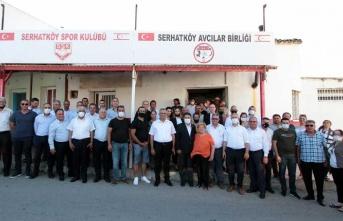 Başbakan Saner Güzelyurt ilçesi köylerini ziyaret etti