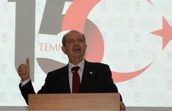 Cumhurbaşkanı Tatar 15 Temmuz programına katıldı