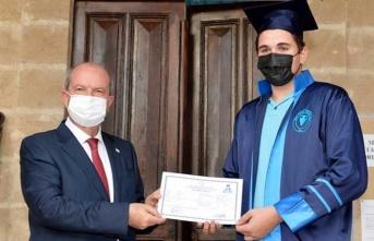 Cumhurbaşkanı Tatar Girne Turizm Meslek Lisesi Mezuniyet Töreni'ne Katıldı