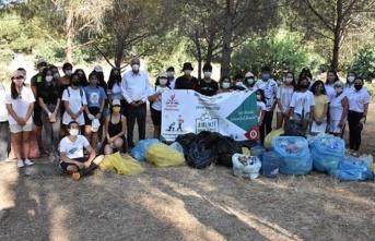 Girne Belediyesi Gençlik Platformu Çevre Etkinliği Düzenledi