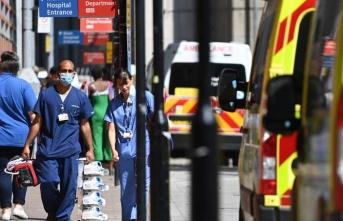 İngiltere'de son 5 gündür günlük vaka sayısı 30 binin üzerinde
