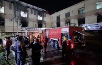 Irak'taki hastane yangınında 92 kişi yaşamını yitirdi