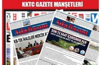 KKTC Gazete Manşetleri /1 Ağustos 2021