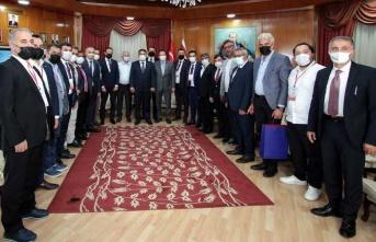 Başbakan Saner, MÜSİAD Kayseri Şubesi Heyetini Kabul Etti