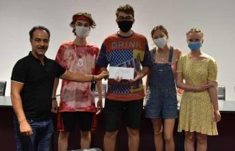 Grafiti ve Resim Yarışmasında Ödüller Sahiplerini Buldu