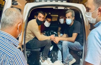 KKTC'de, Suriye uyruklu 4 mülteci yakalandı