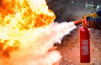 Yangın Tüpü Hayat Kurtardı!