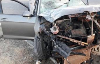 Lefkoşa'da trafik kazası!