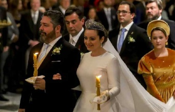 Rusya'da 100 yıl aradan sonra ilk defa hanedan düğünü yapıldı