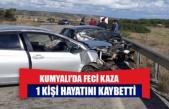 Kumyalı kavşağı yakınlarında kaza: 1 ölü