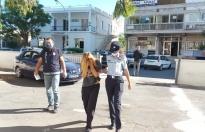 Hırsızlık iddiasıyla tutuklandı