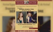 18. Uluslararası Kuzey Kıbrıs Müzik Festivali Soprano Sermin Dikmen Töre Şan Resitali İle Devam Ediyor