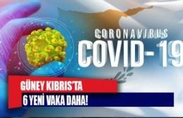 Güney kıbrıs'ta 6 yeni vaka daha!
