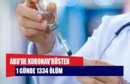 ABD'de koronavirüsten 1 günde 1334 ölüm
